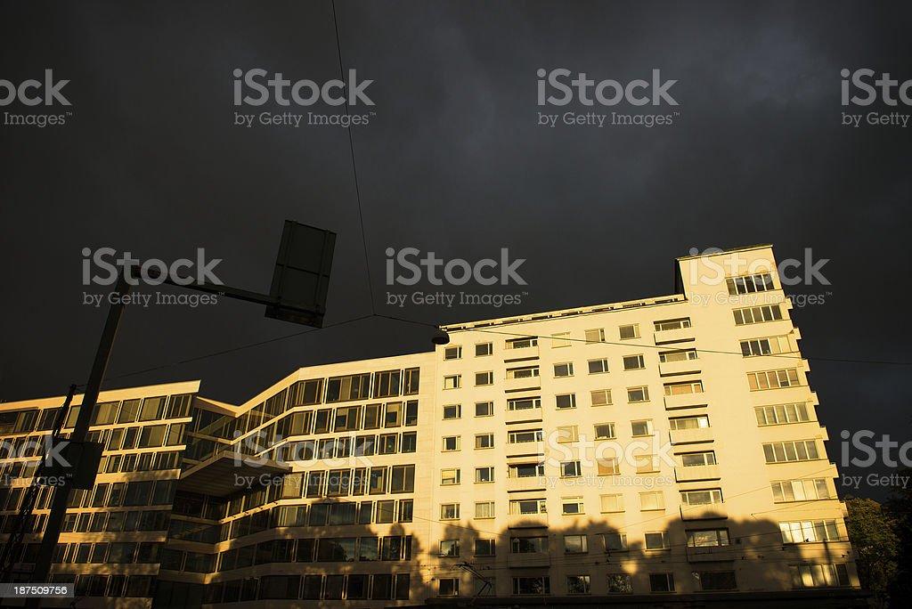 Architecture in Helsinki stock photo