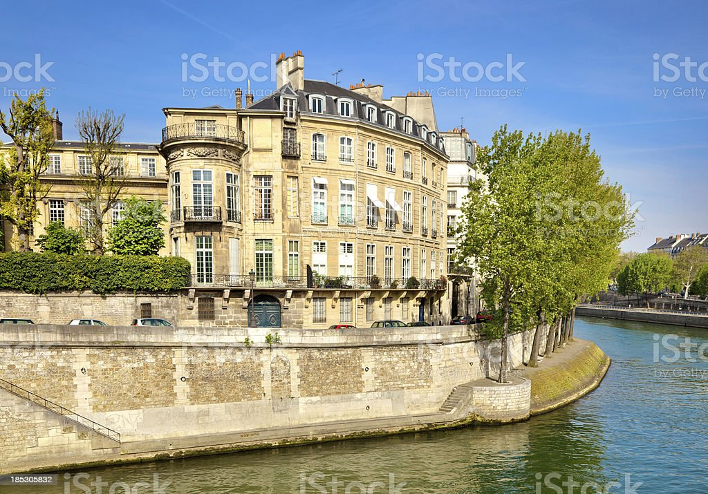 Architecture in Paris royalty-free stock photo
