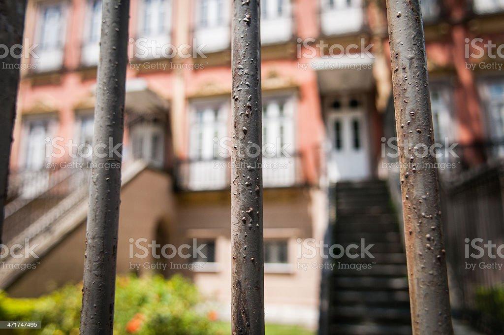 Architecture in Rio de Janeiro royalty-free stock photo