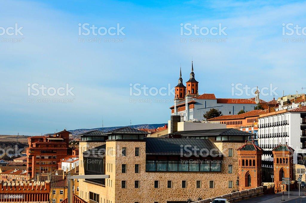 Architecture in Teruel, Spain stock photo