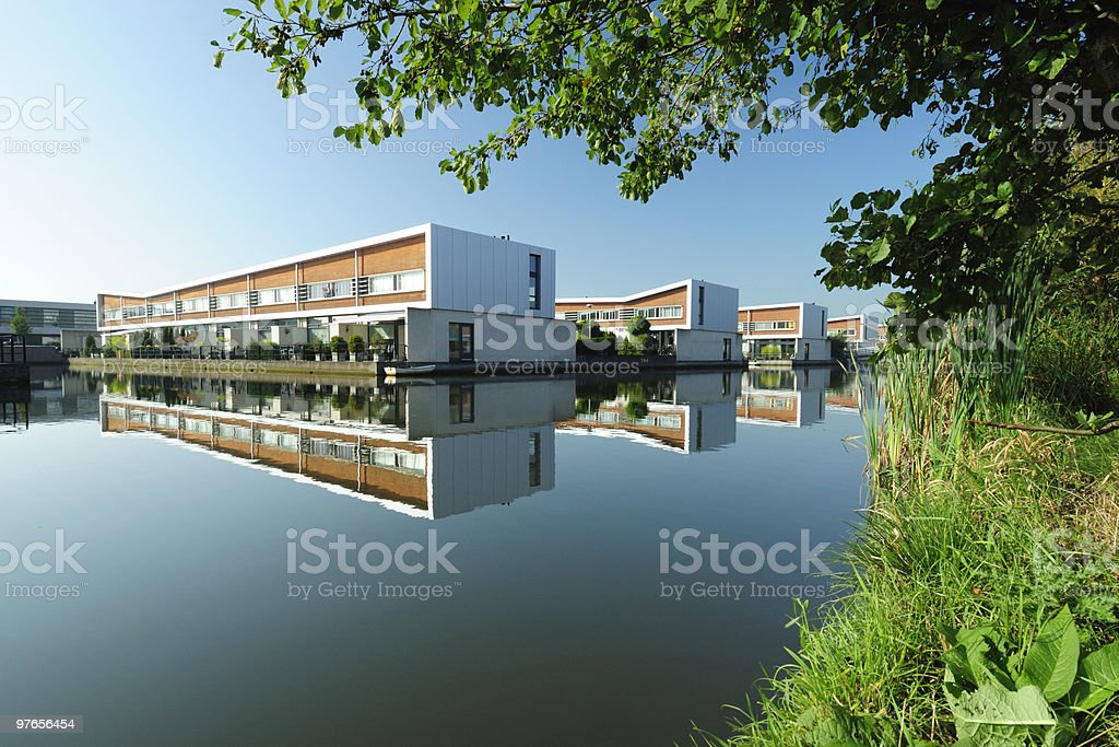 Architecture in the Netherlands stock photo
