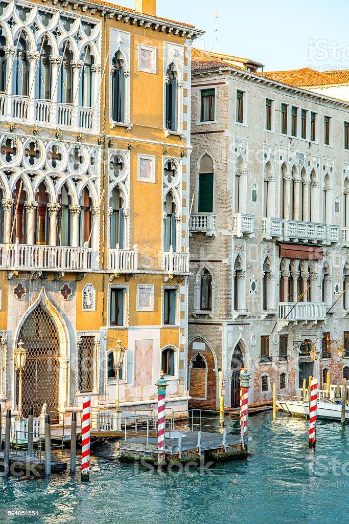 Architecture in Venice stock photo