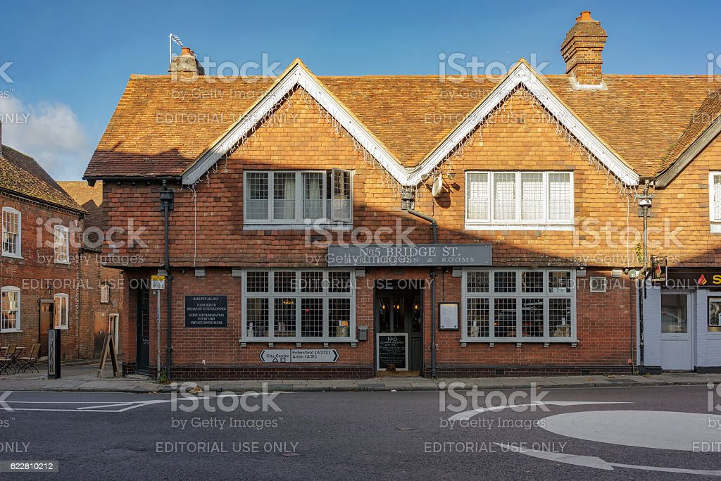 Architecture in Winchester stock photo