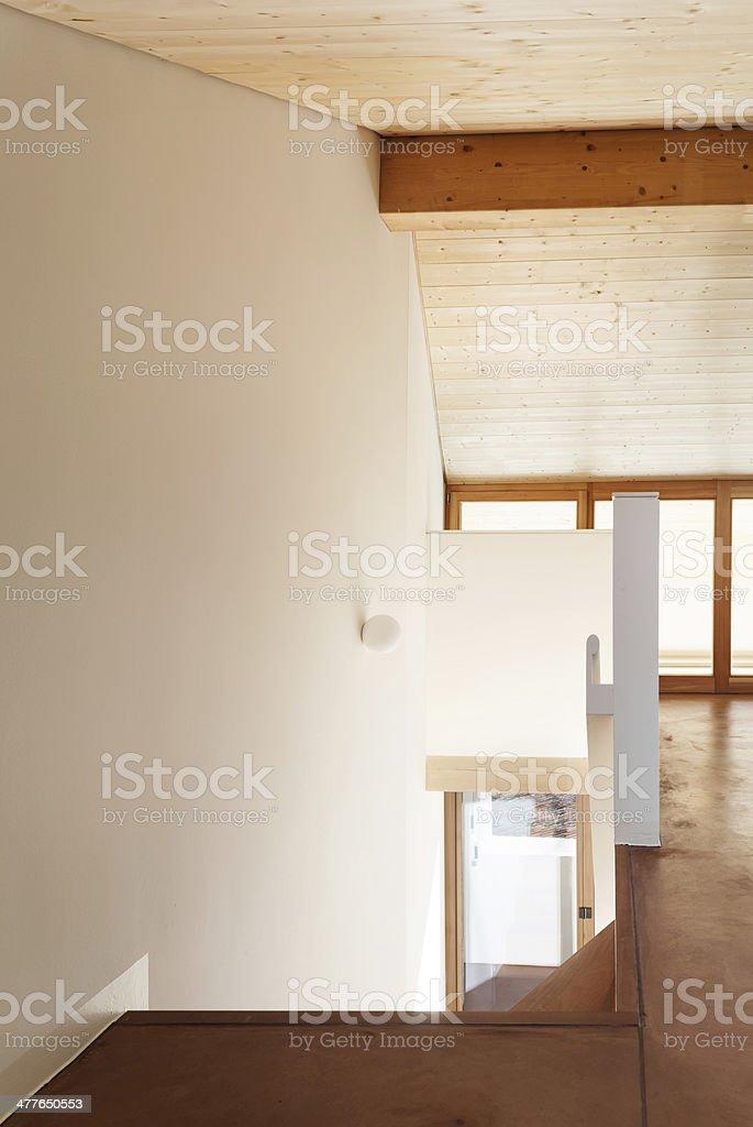 Architecture, interior empty house royalty-free stock photo