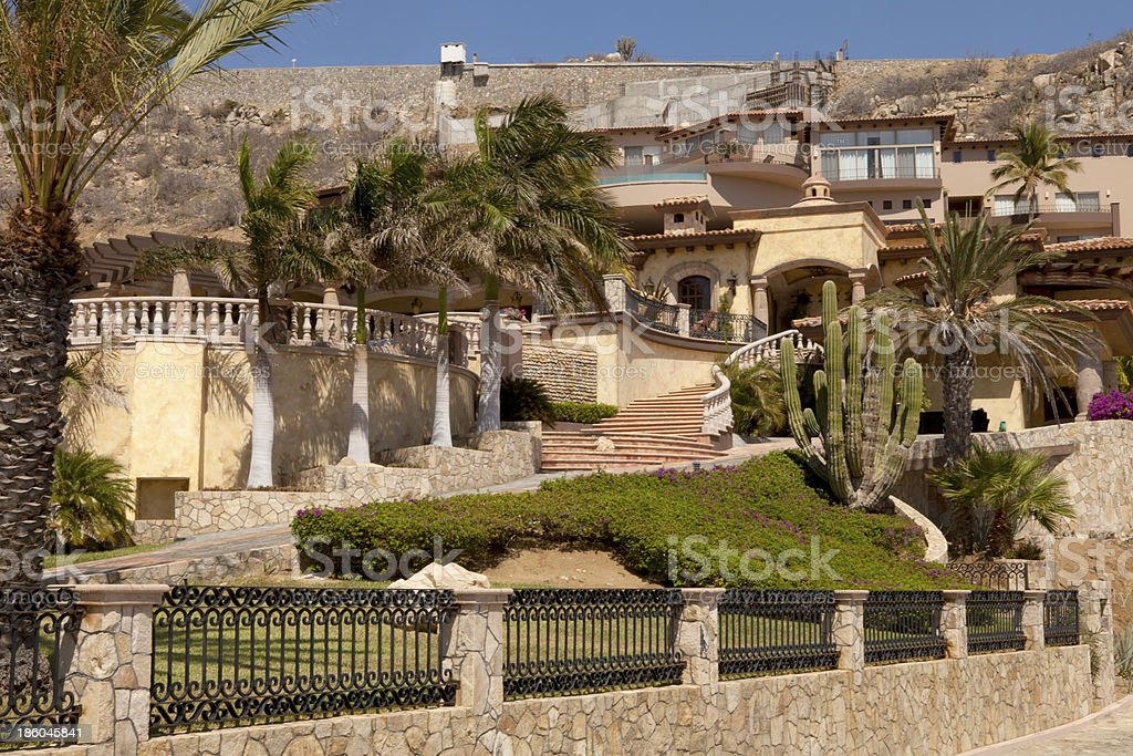 Architecture: Luxury Home - Mexico stock photo