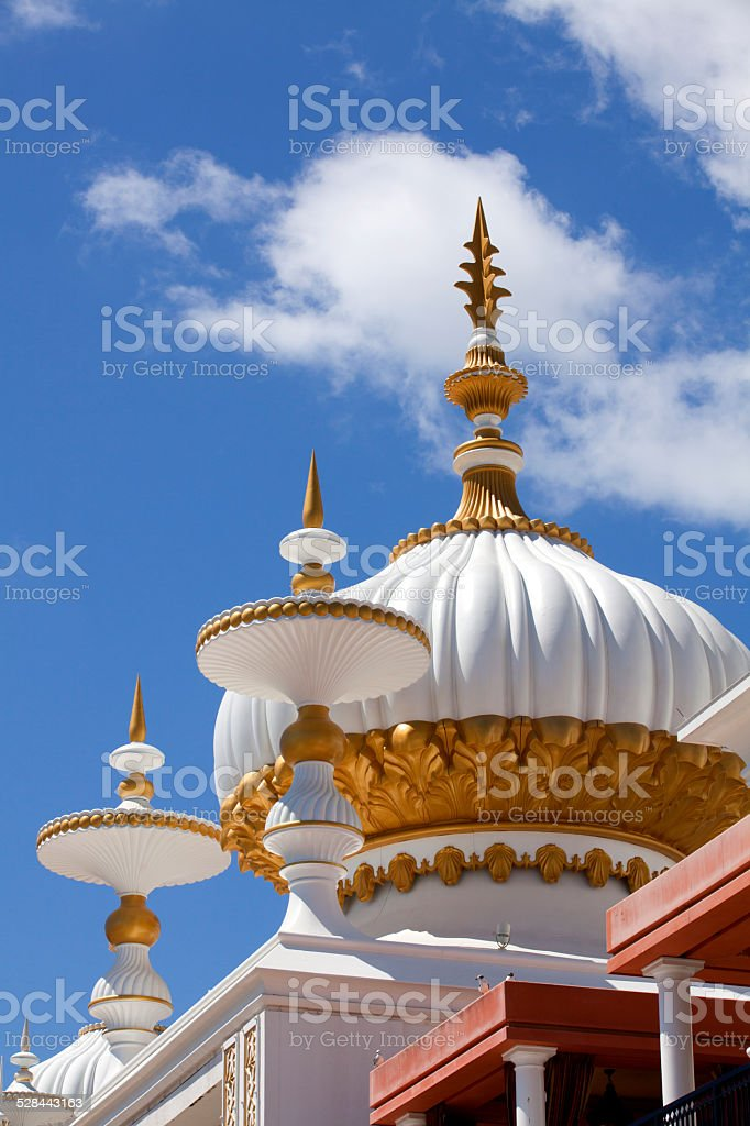 Architecture:  Middle Eastern elements of Mughal Style stock photo