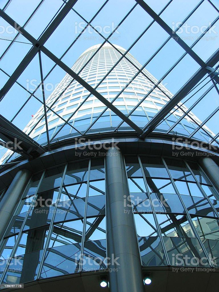 architecture: Millennium Tower, Millennium City (Vienna) 2 royalty-free stock photo