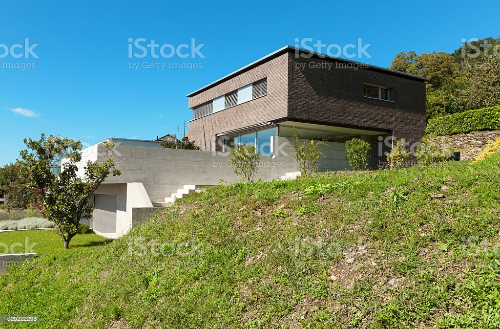 Architecture modern design, outdoors stock photo
