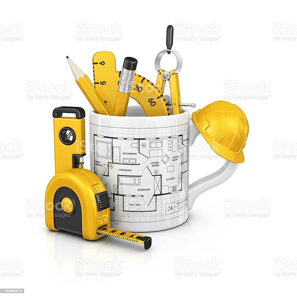 architecture mug royalty-free stock photo