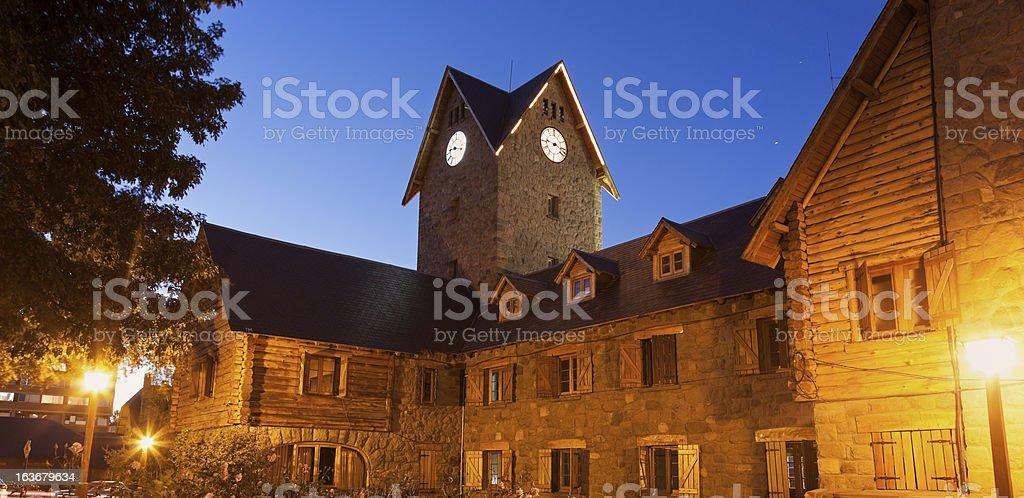 Architecture of Bariloche royalty-free stock photo