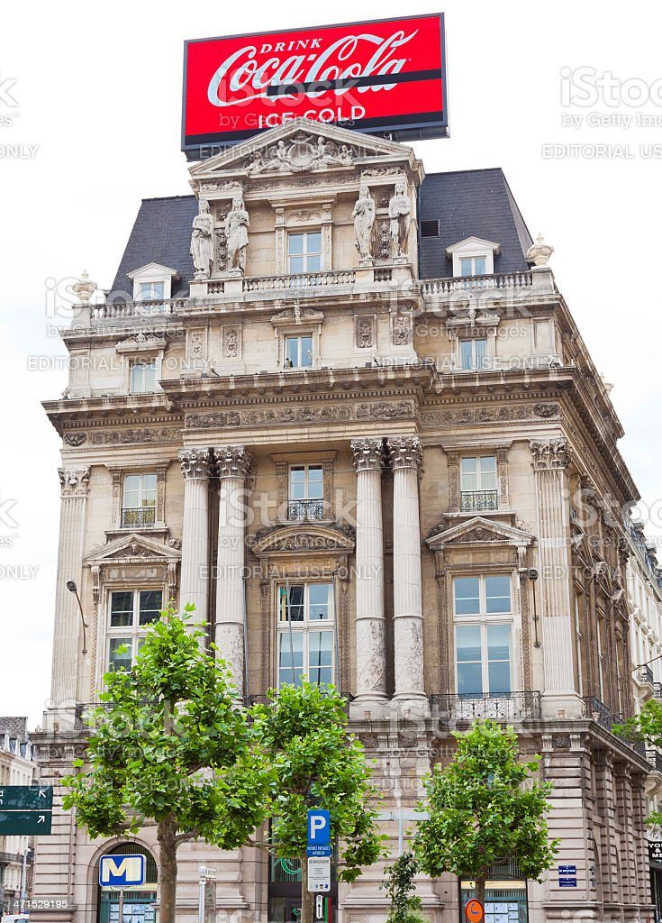 Architecture of Brussels. royalty-free stock photo