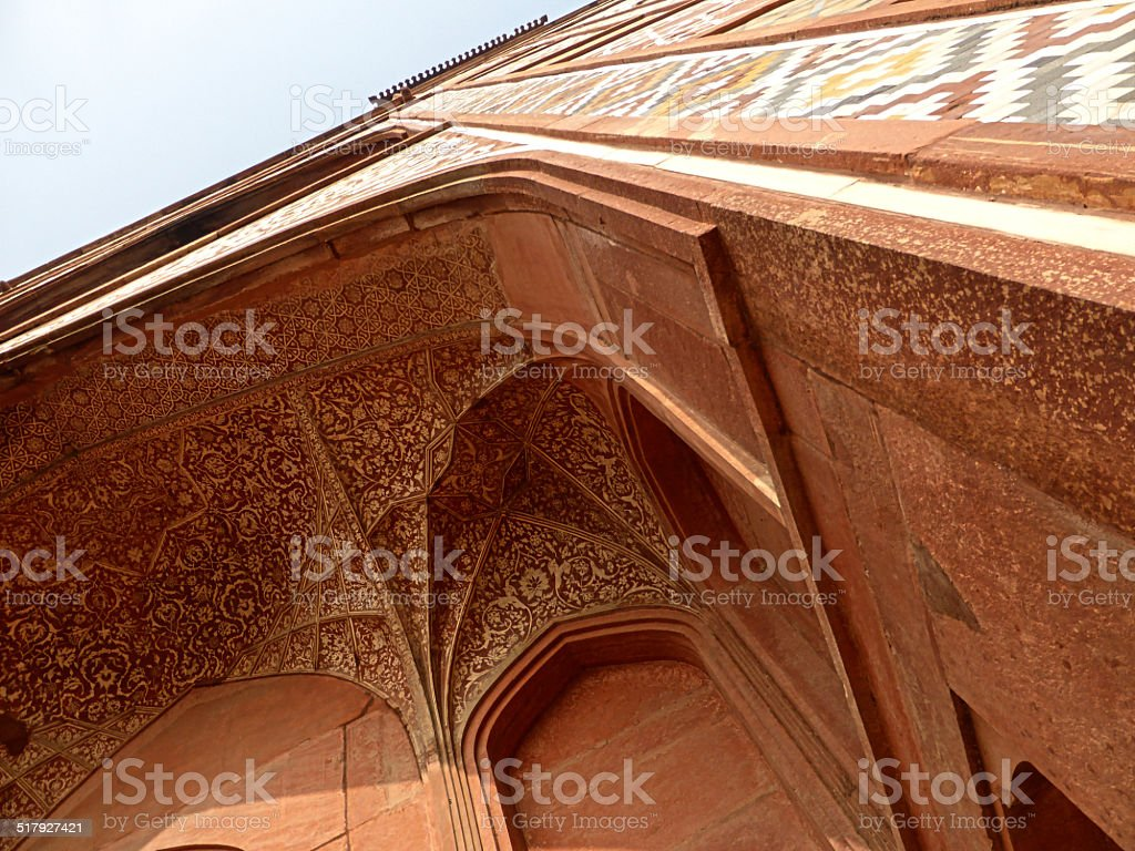 Architecture of Fatehpur Sikri royalty-free stock photo
