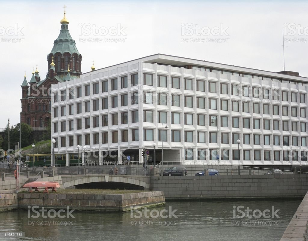 Architecture of Helsinki royalty-free stock photo