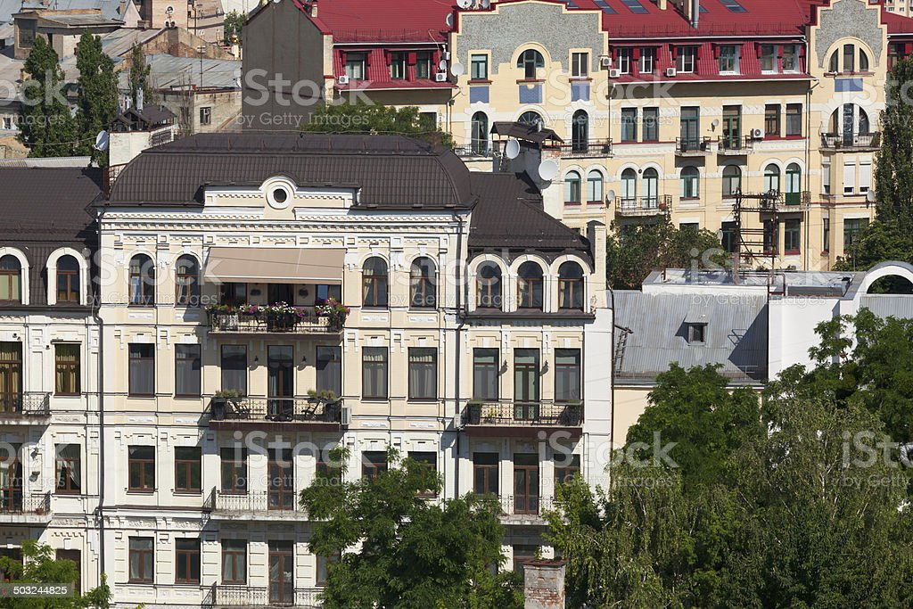 Architecture of Kyiv royalty-free stock photo