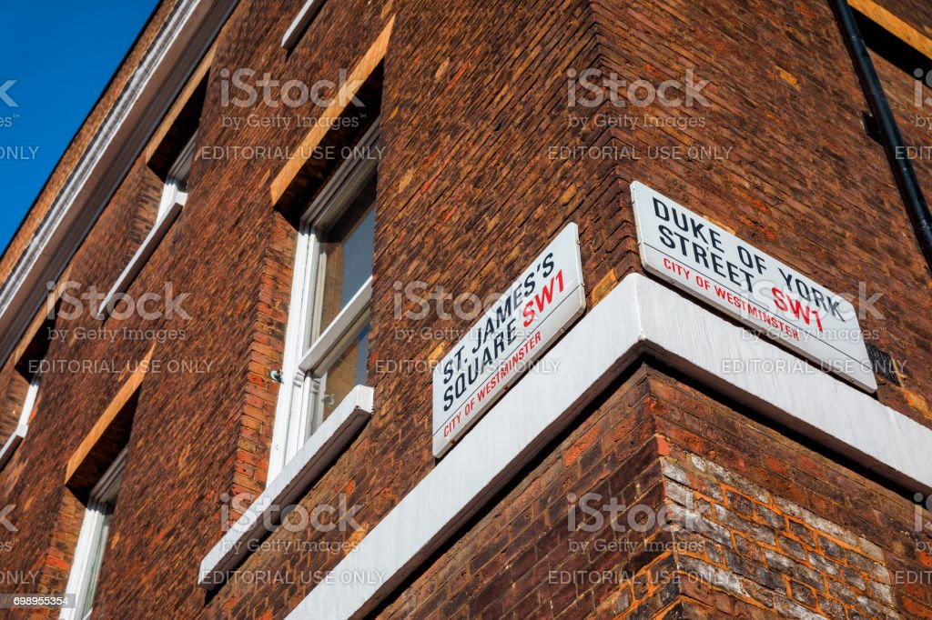 Architecture of London stock photo