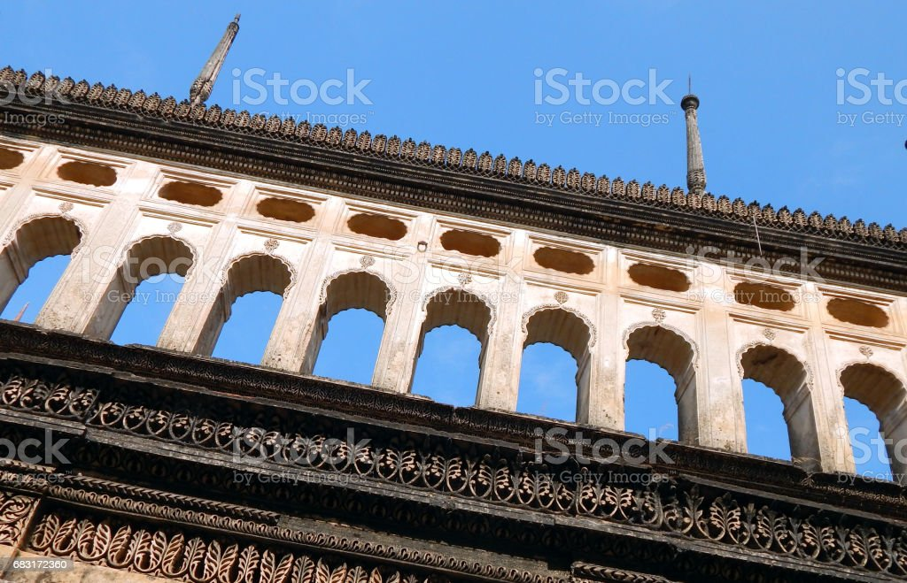 Architecture of Paigah tombs, Nobles of Princely State of Hyderabad,India in 1800s stock photo