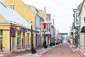 Architecture of Parnu, Estonia