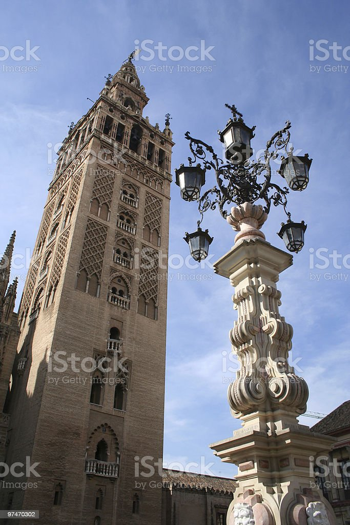 Architecture of Seville. royalty-free stock photo
