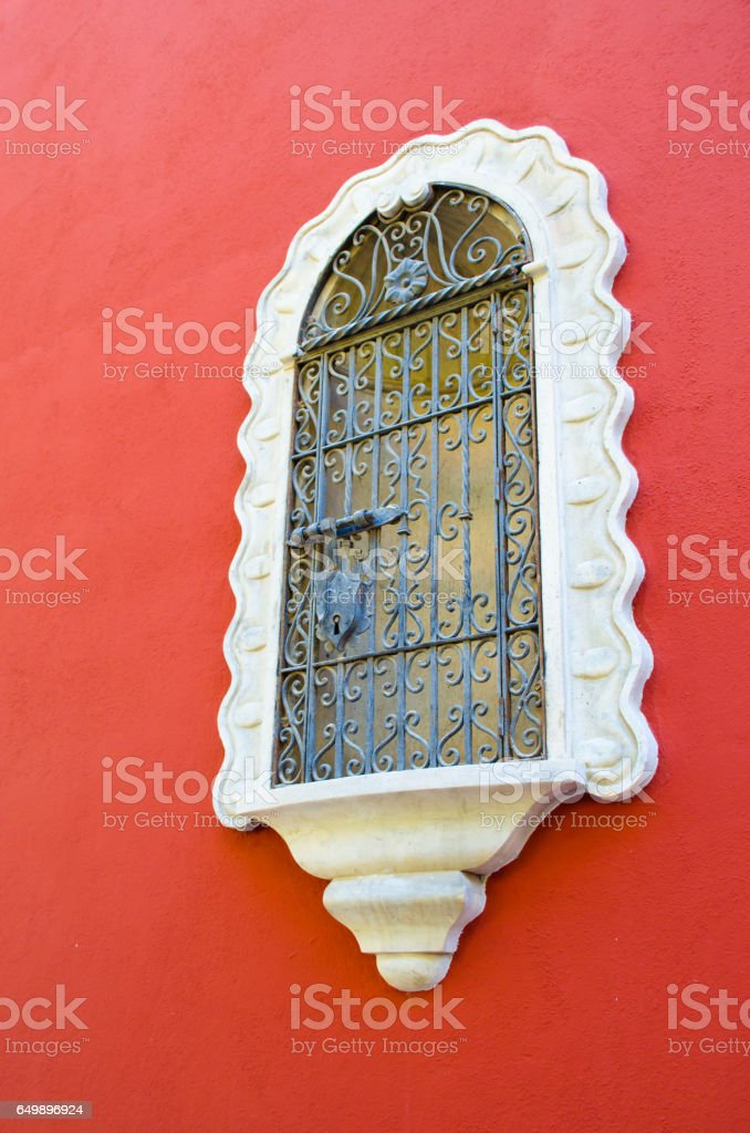Architecture of Seville, Spain. stock photo