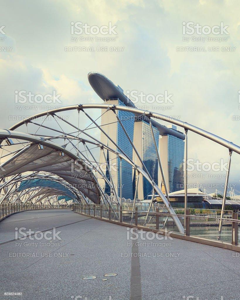 Architecture of Singapore stock photo