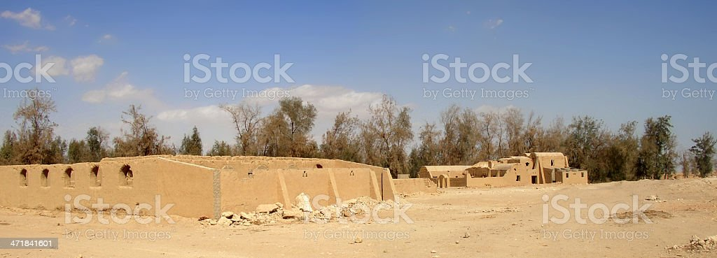 Architecture of the desert royalty-free stock photo