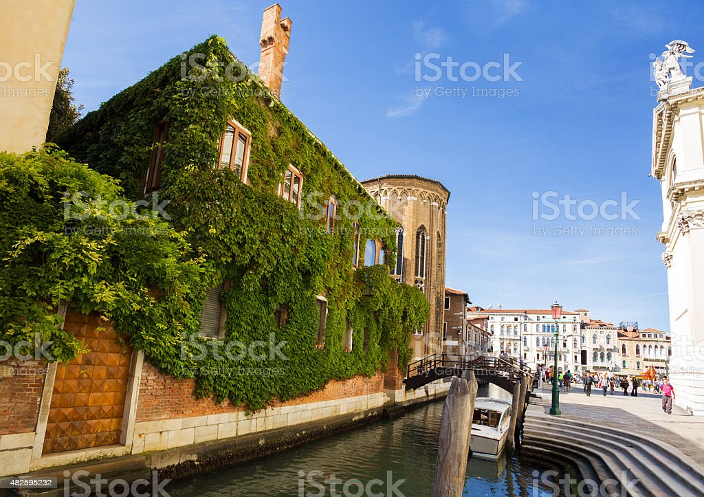 Architecture of  Venice. Italy. stock photo