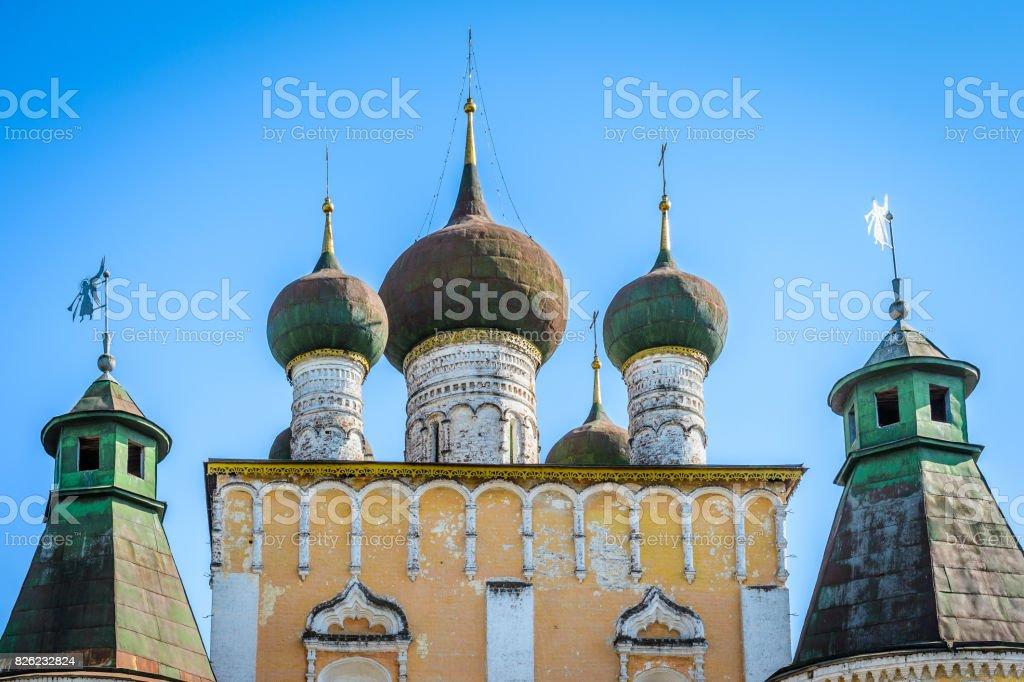 Architecture of Yaroslavl, 'Golden Ring' Russia stock photo