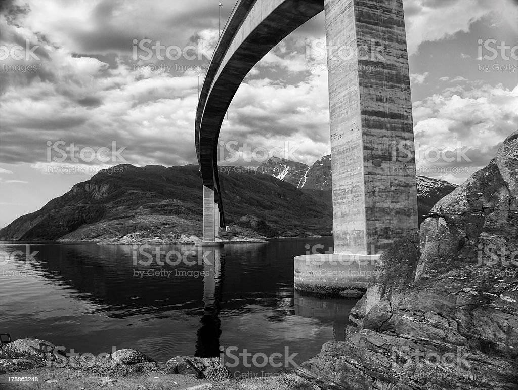 Architecture - Overpass royalty-free stock photo