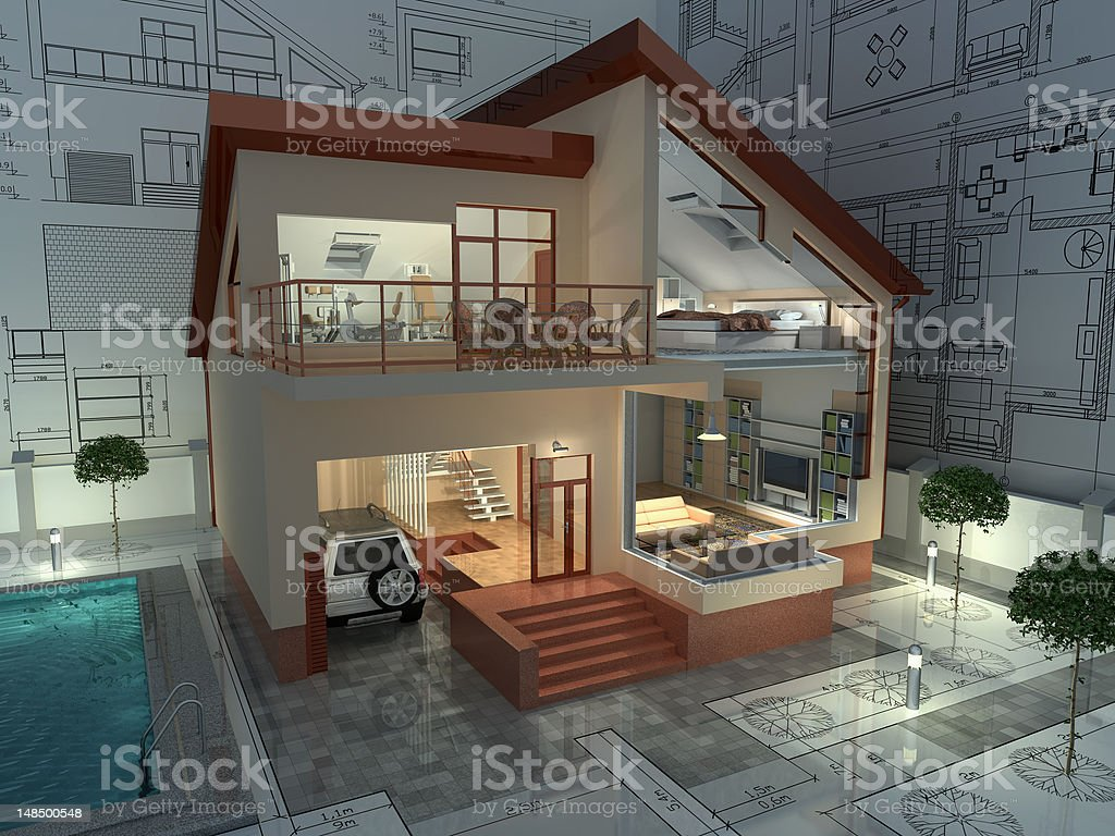 Architecture. royalty-free stock photo