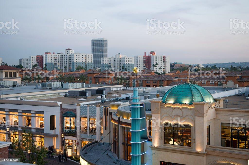 L.A. Architecture stock photo