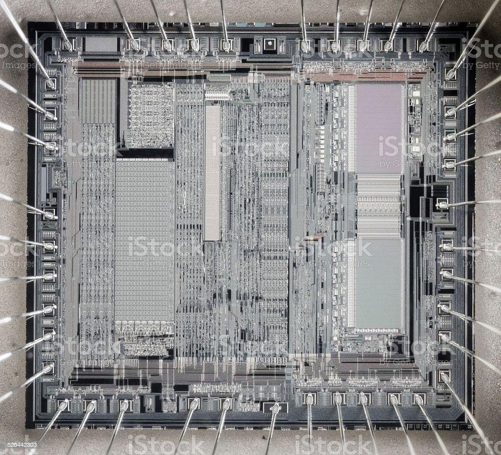 CPU Architecture stock photo