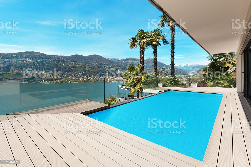 architecture, pool stock photo