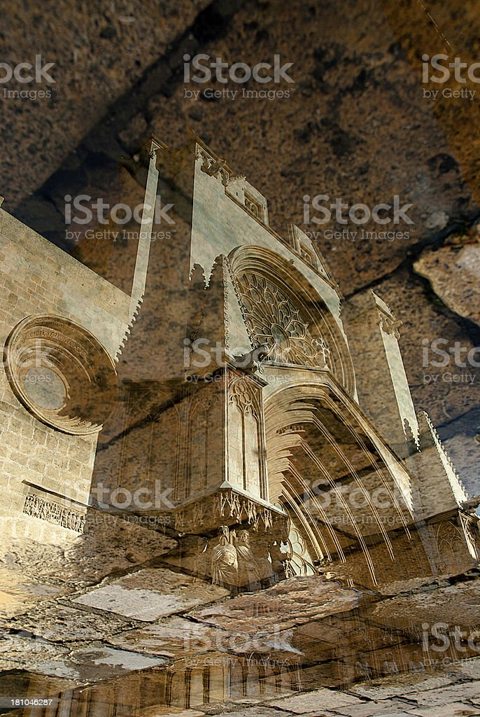 Architecture Reflection royalty-free stock photo