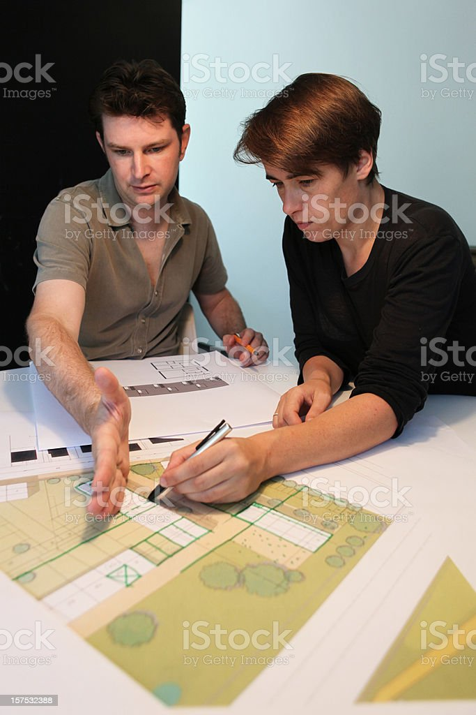 Architecture review royalty-free stock photo