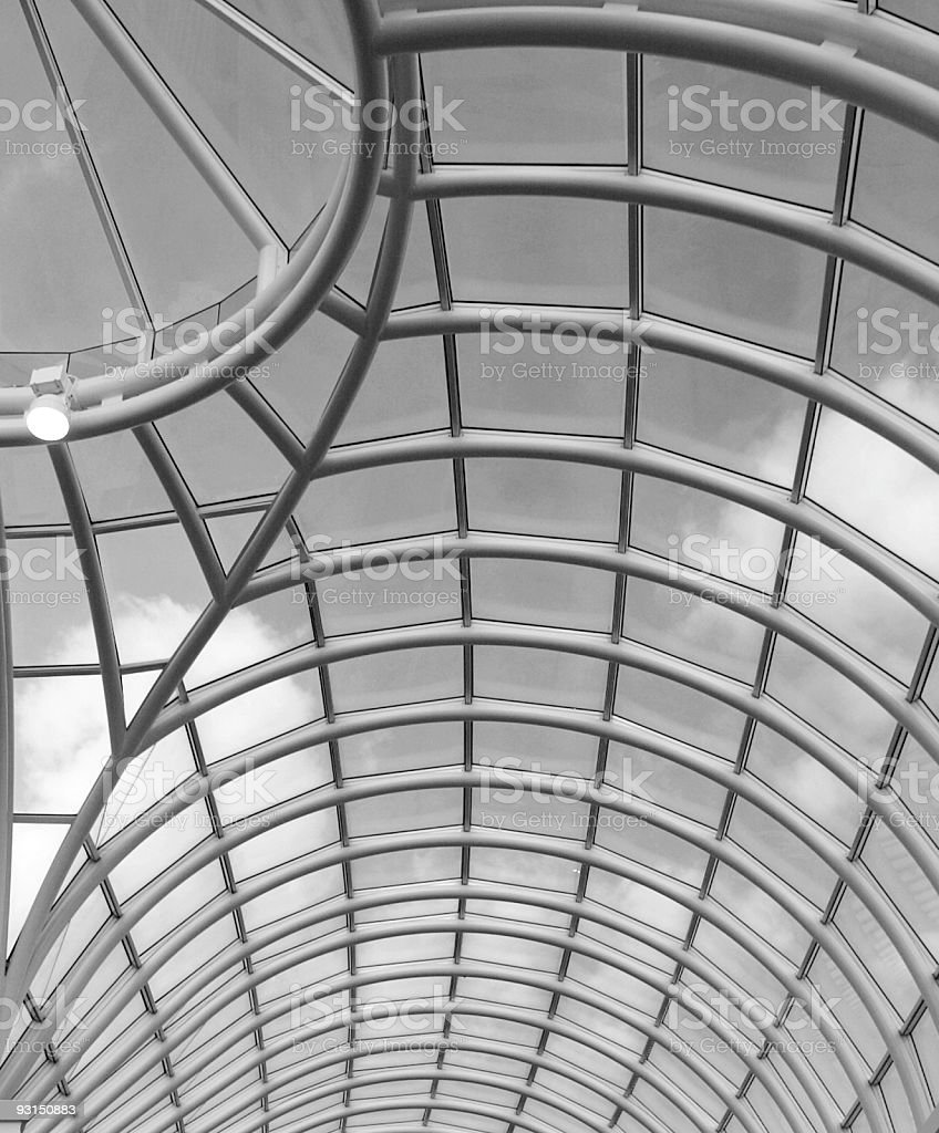 Architecture Roof Detail Melbourne Australia royalty-free stock photo