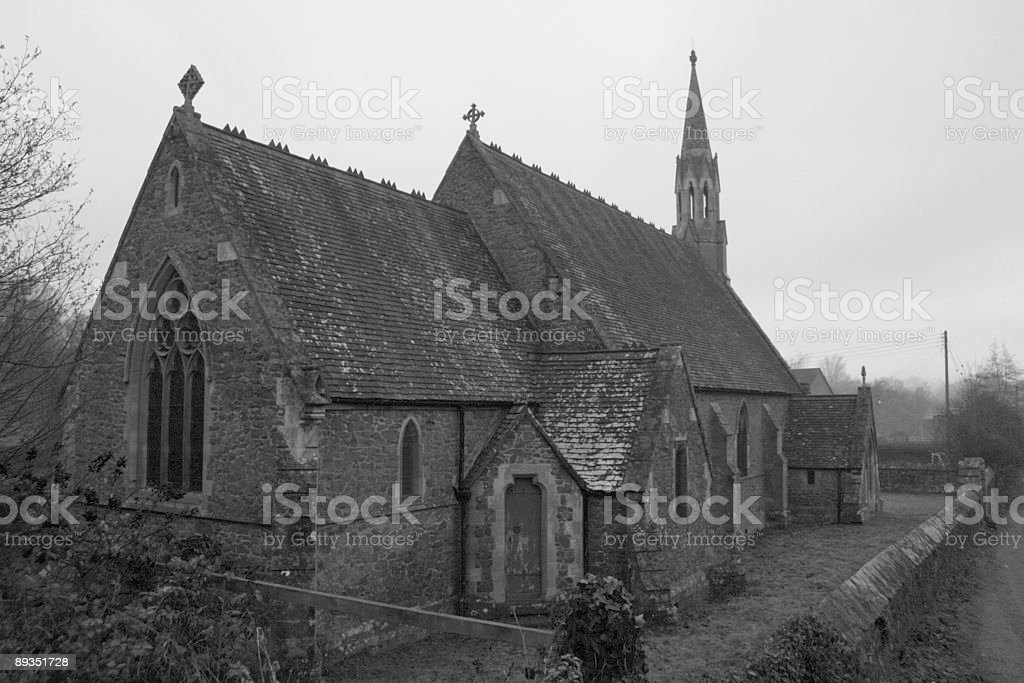 Architecture: Rural Church royalty-free stock photo