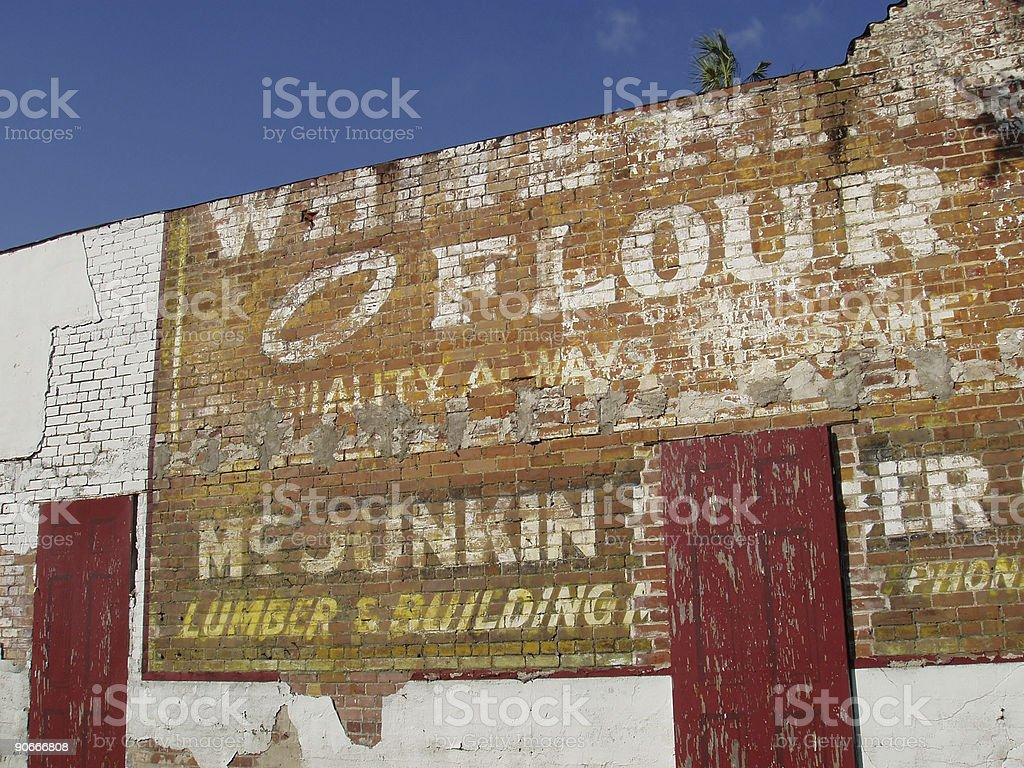 Architecture - Rustic Retro Wall 3 royalty-free stock photo