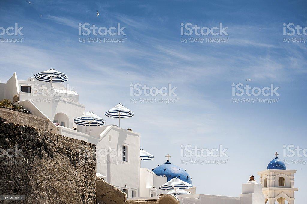Architecture Santorini royalty-free stock photo