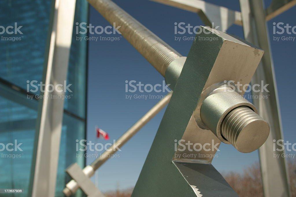 Architecture screw stock photo