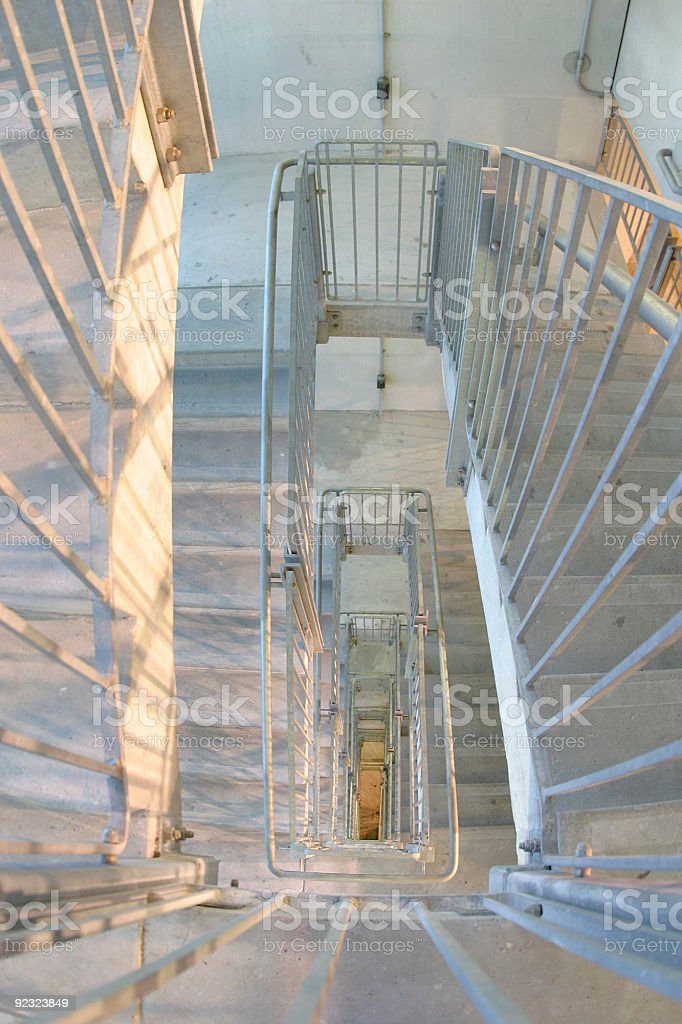 Architecture - Spiral staircase royalty-free stock photo