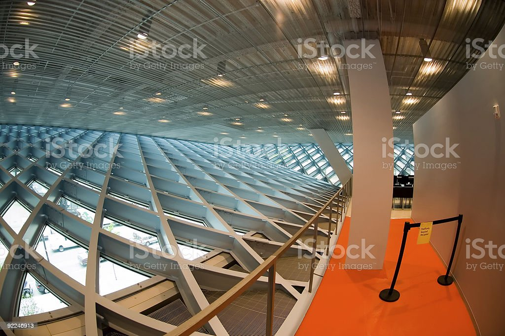 Architecture - SPL Interior 1 royalty-free stock photo