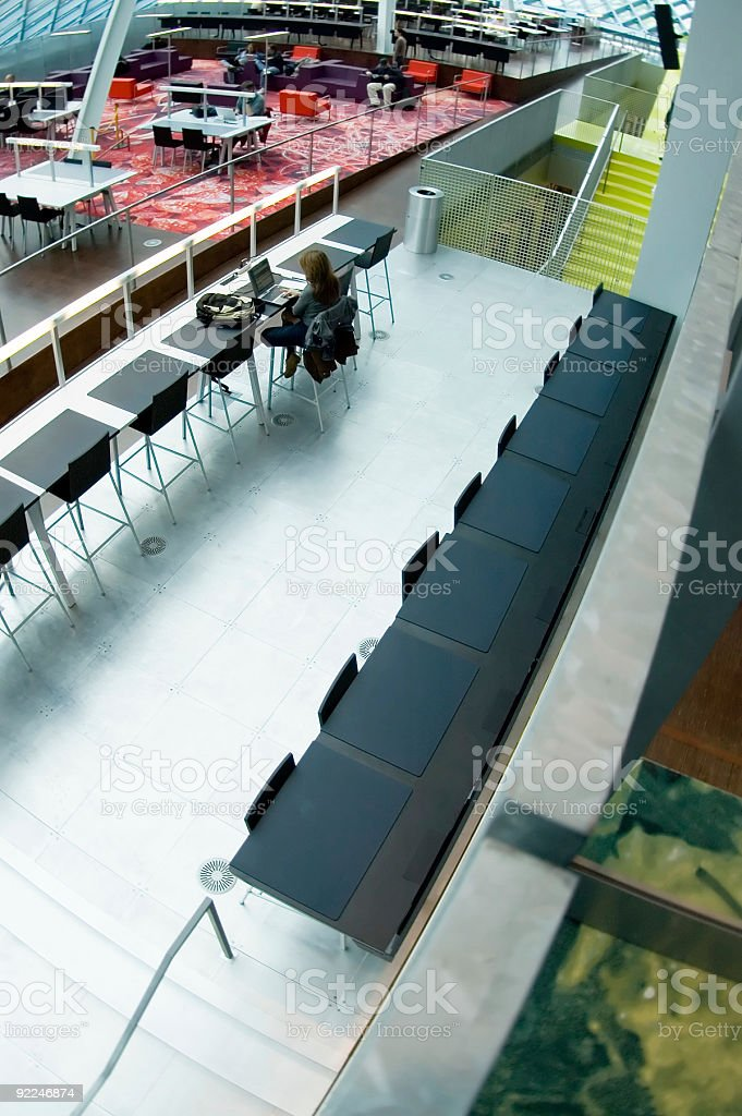 Architecture - SPL Interior 10 royalty-free stock photo