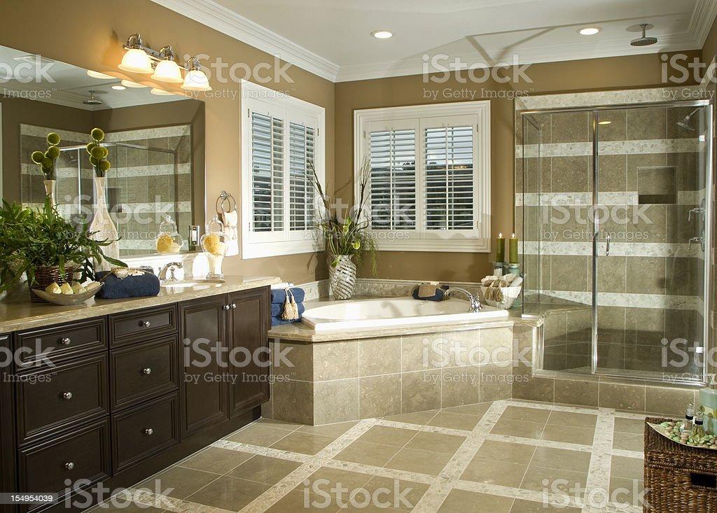 Architecture Stock Bath room Interior Design Photo Images stock photo