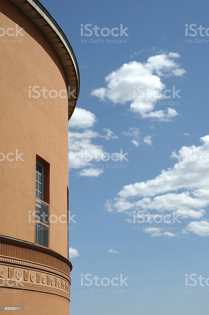 Architecture - Stockholm Library royalty-free stock photo