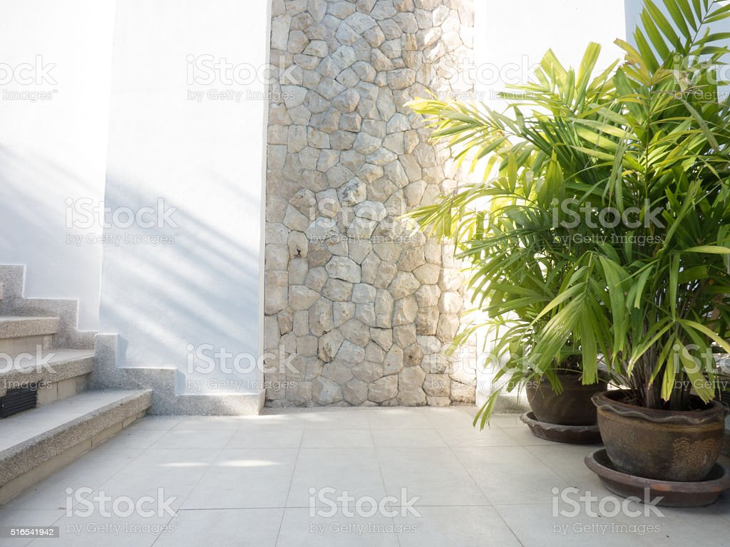architecture sunshine open decoration room stock photo