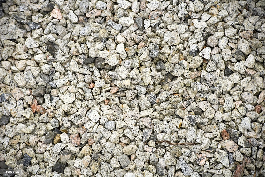 Architecture texture - Granite chippings stock photo