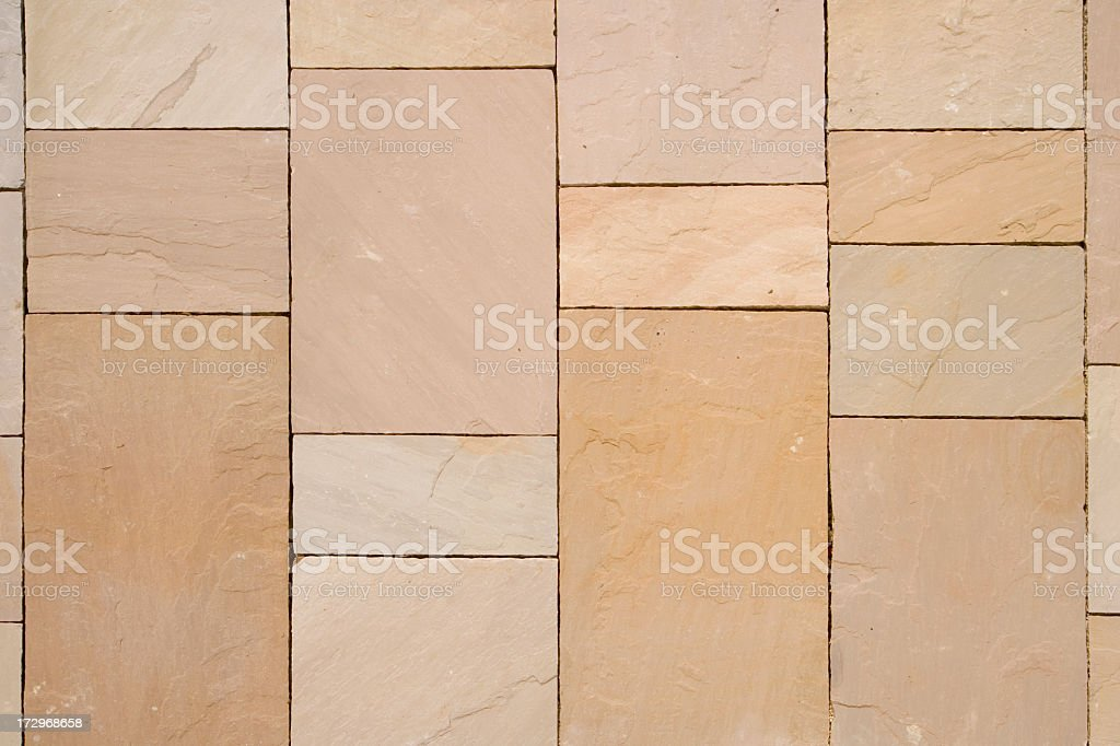 Architecture texture - New stone slab pavement pattern royalty-free stock photo