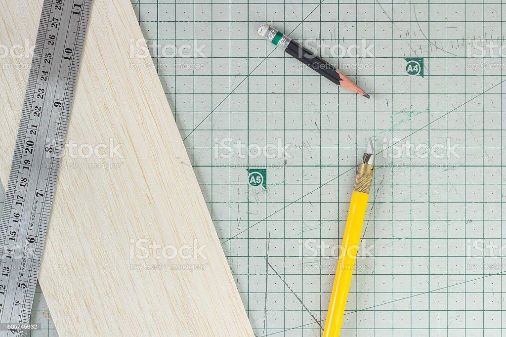 architecture tools stock photo