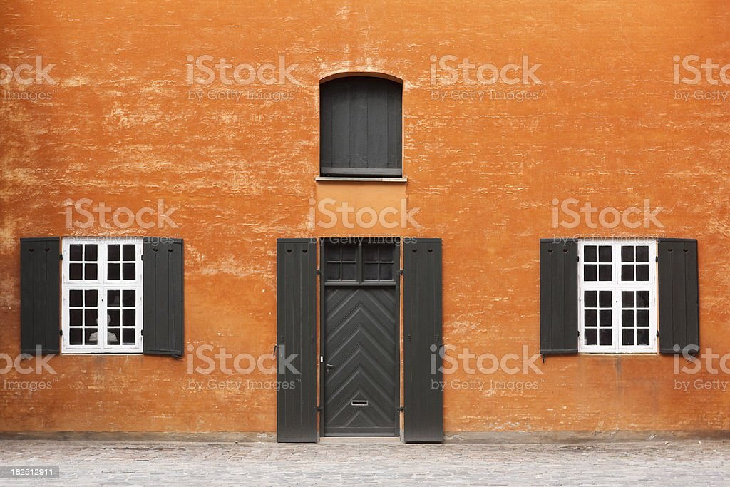 Architecture - Typically Danish royalty-free stock photo