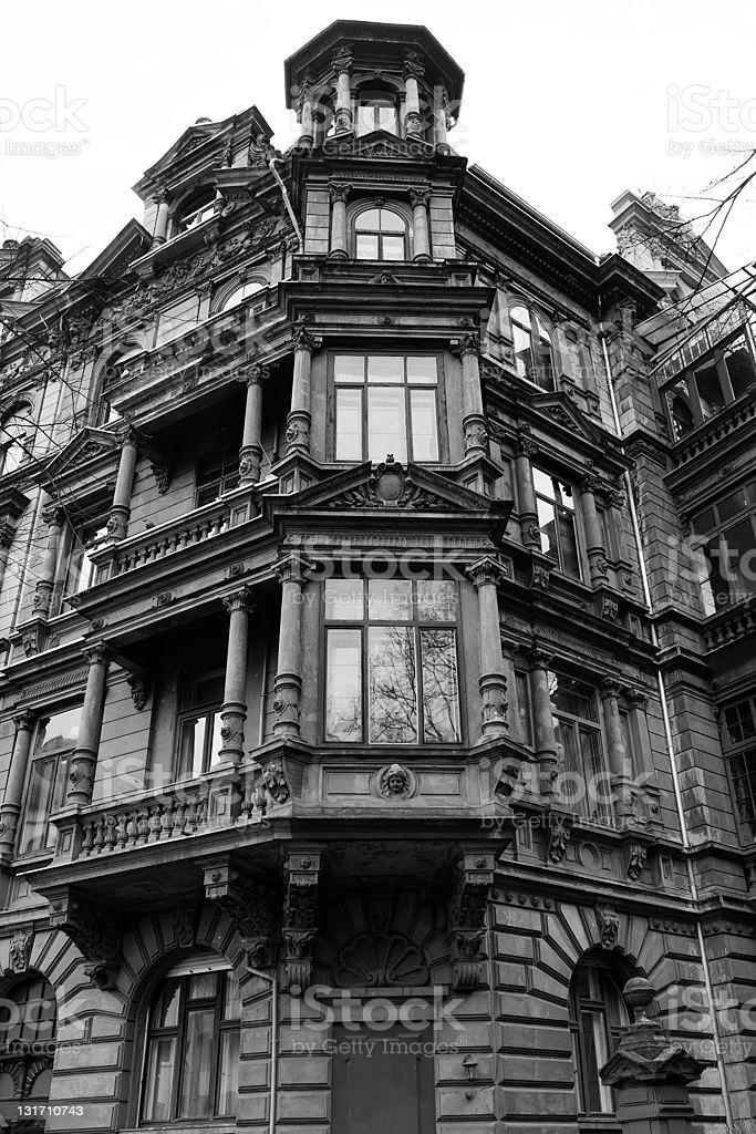 Architecture - Wilhelminian style royalty-free stock photo